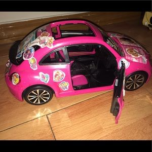 Barbie VW The Beetle Hot Pink